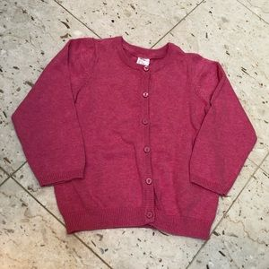 NWT Pink sweater 12-18 M.